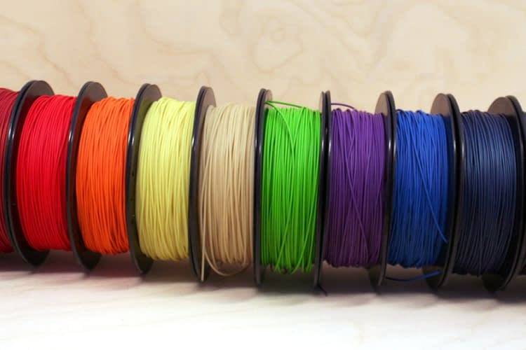 10 Spools of Willow Flex 3D Printing Filament