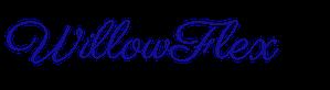 WillowFlex Bright Blue Logo