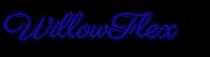WillowFlex Logo in BrightBlue